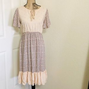 Lauren Conrad prairie style dress